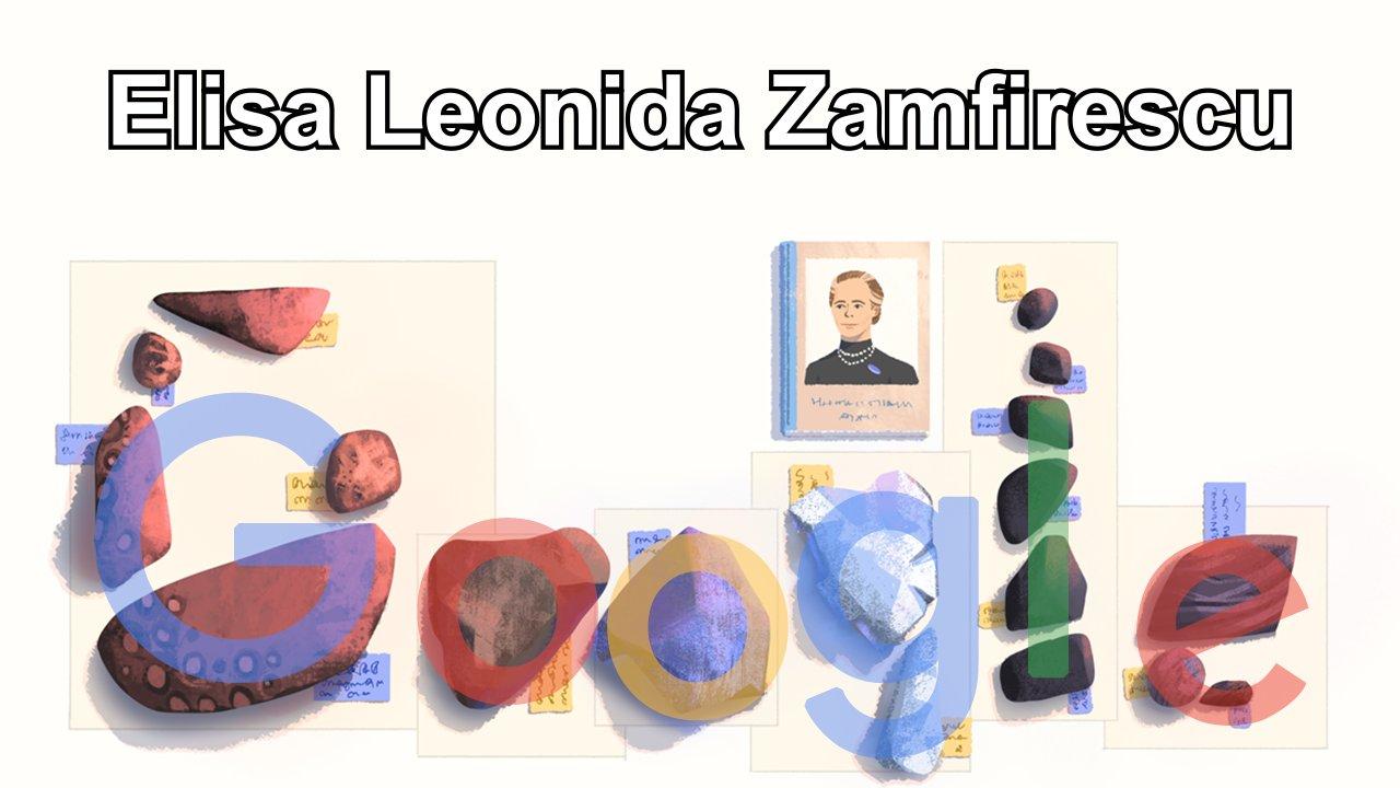 Elisa Leonida Zamfirescu Google Doodle