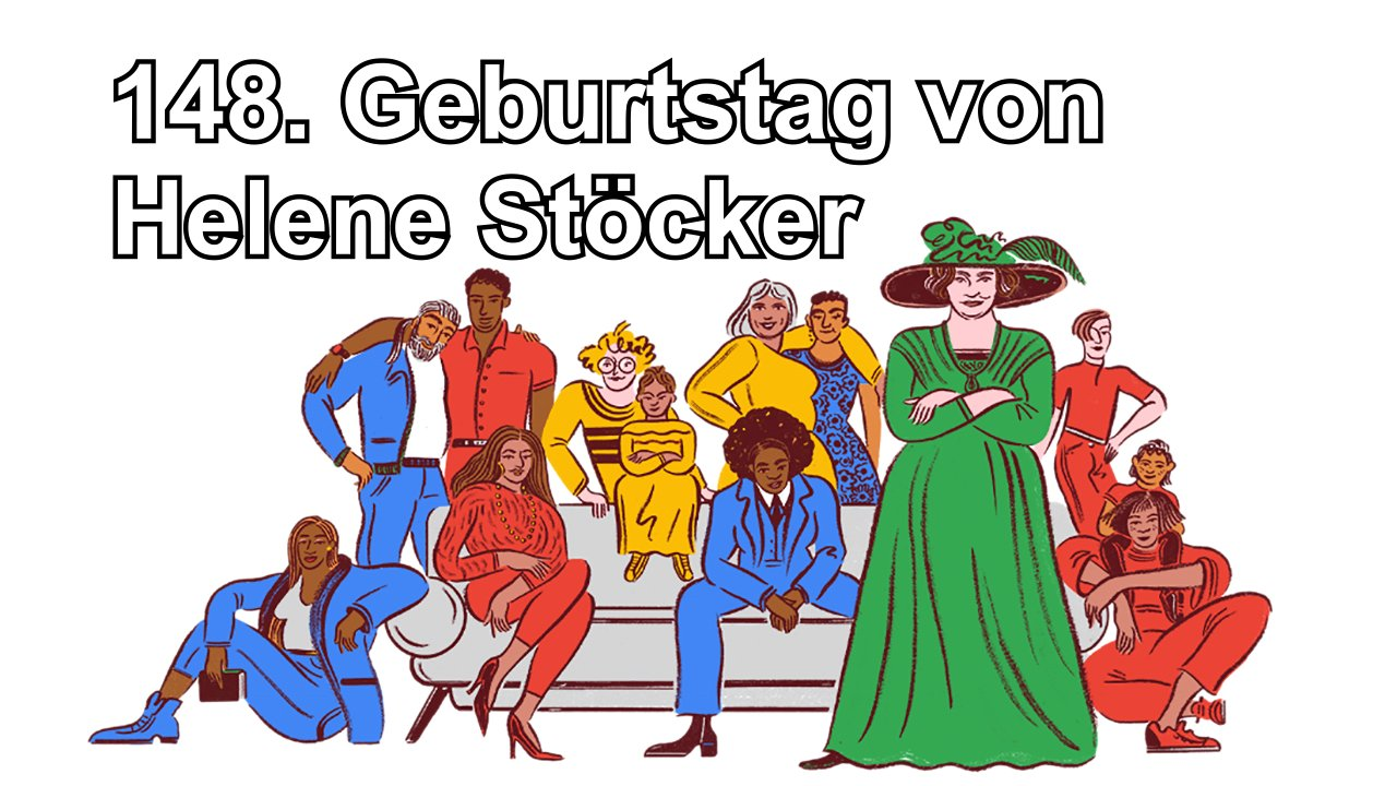 Helene Stöcker (Google Doodle)