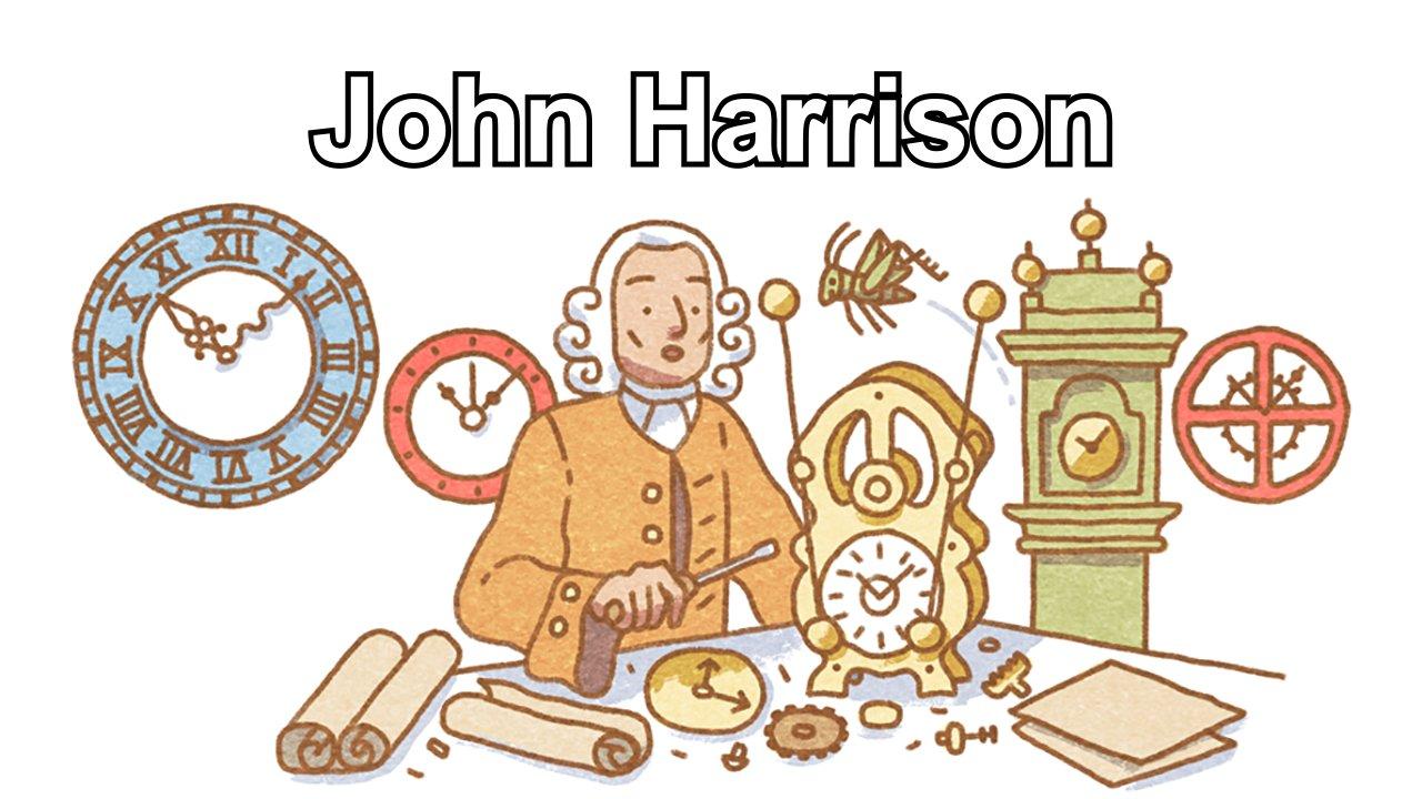 John Harrison (Google Doodle)