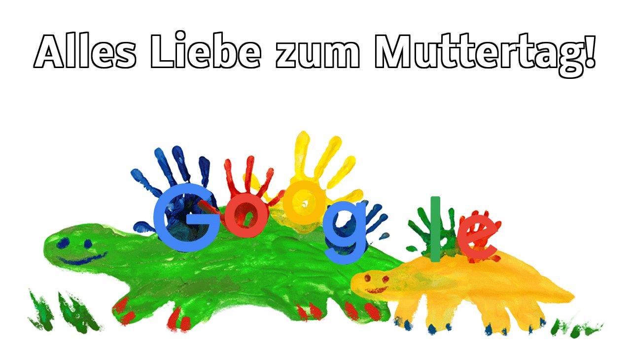 Muttertag 2018 (Google Doodle)