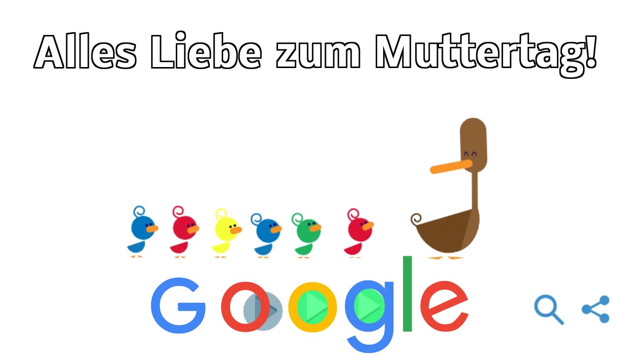 Muttertag 2019 Google Doodle