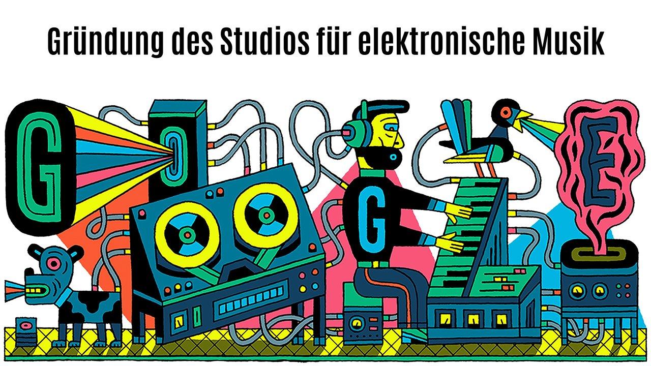 Studio für elektronische Musik (Google Doodle)