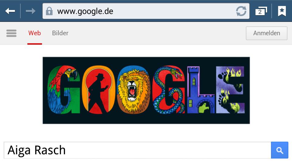 Aiga Rasch (Google-Doodle)