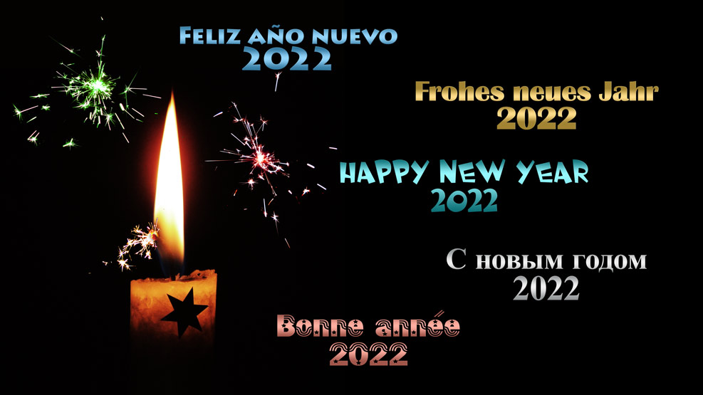 Frohes neues Jahr 2022
