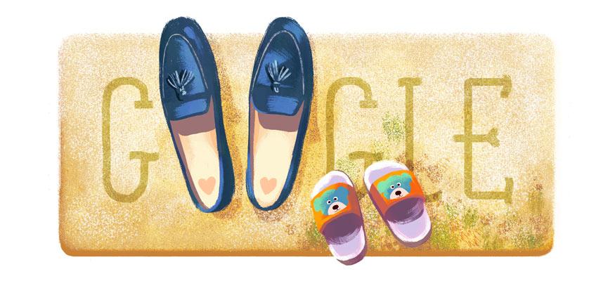 Muttertag 2016 (Google Doodle)