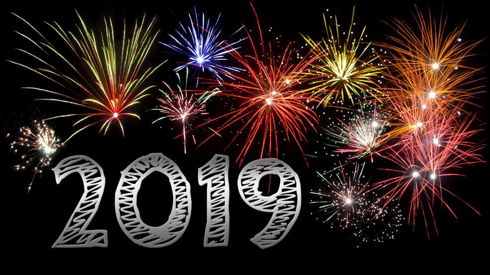 Neujahr 2019 (silber)