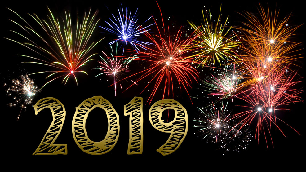 Neujahr 2019 (gold)