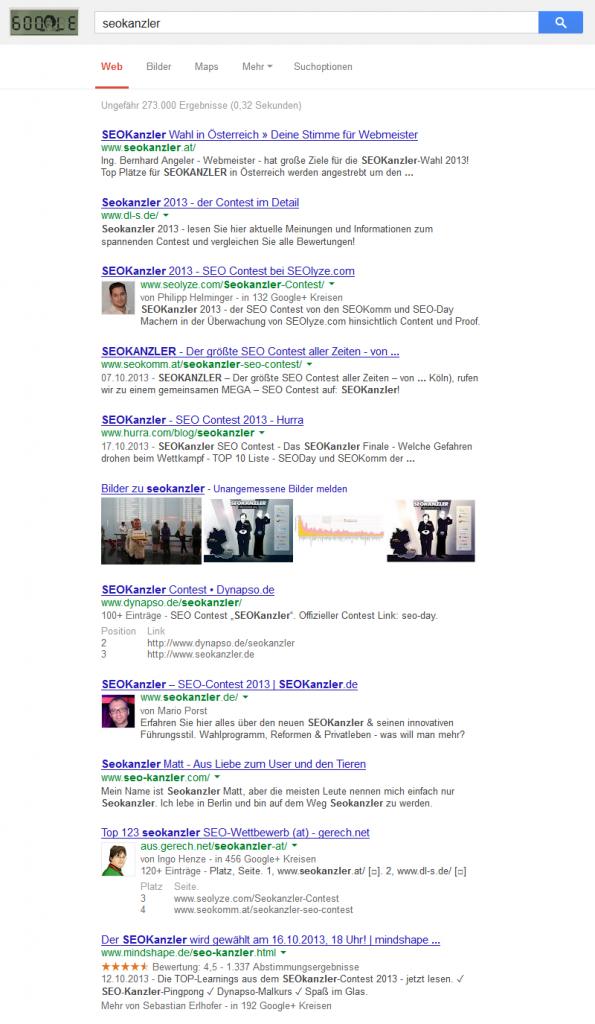 Seokanzler (google.at) am 4.11.2013