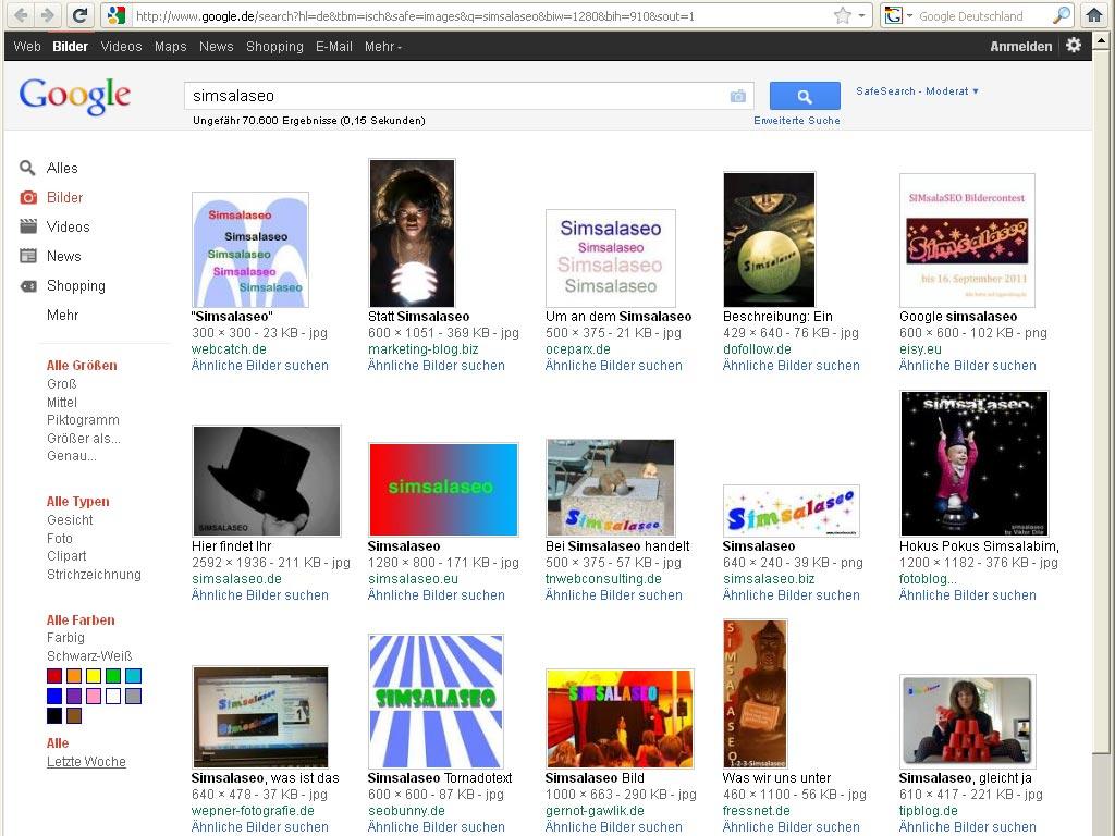 Simsalaseo google.de - deutsch