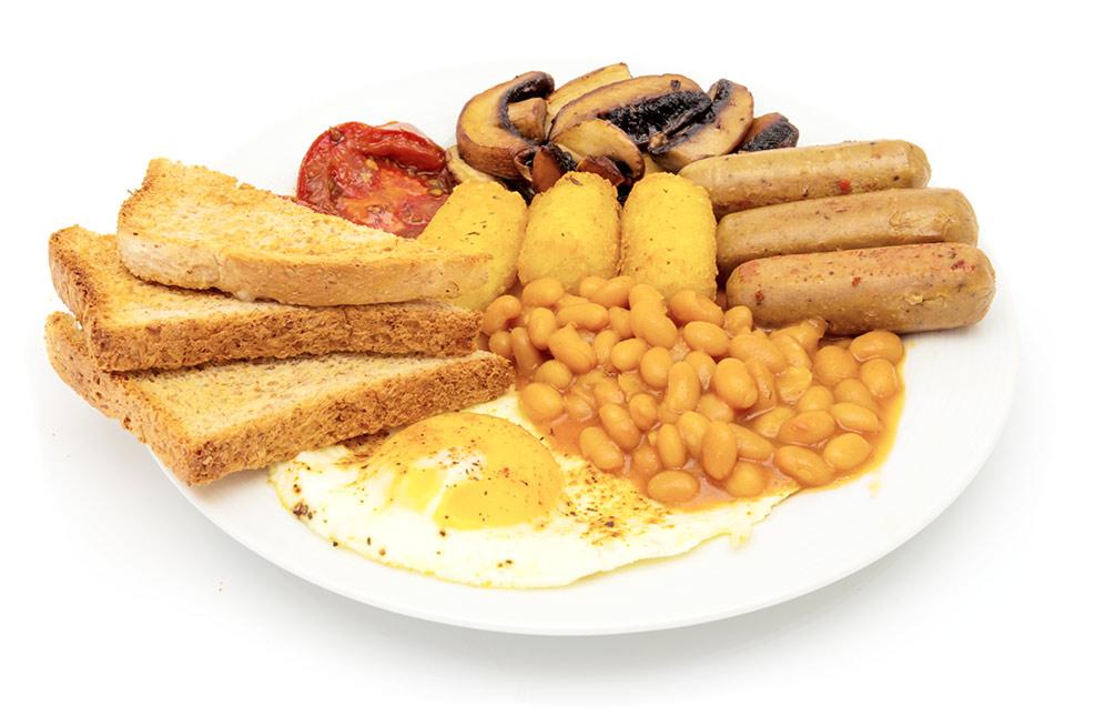 White Hat Jedi Frühstück